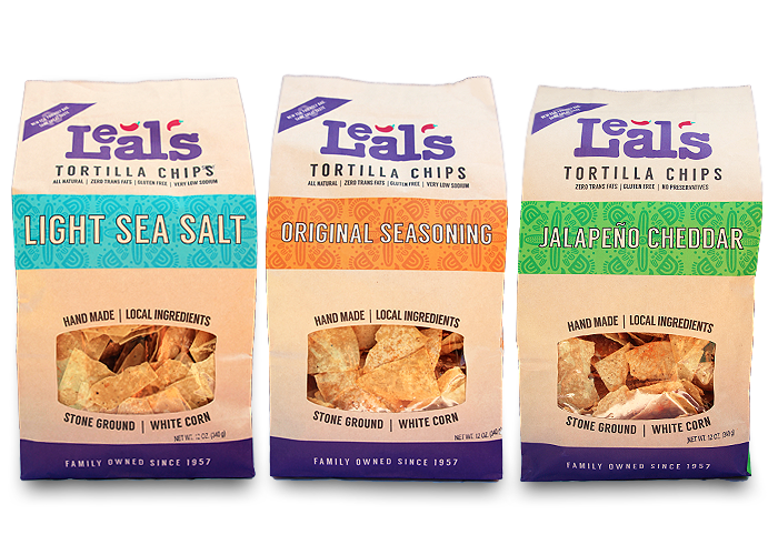 Leal's Tortilla Chip varieties image