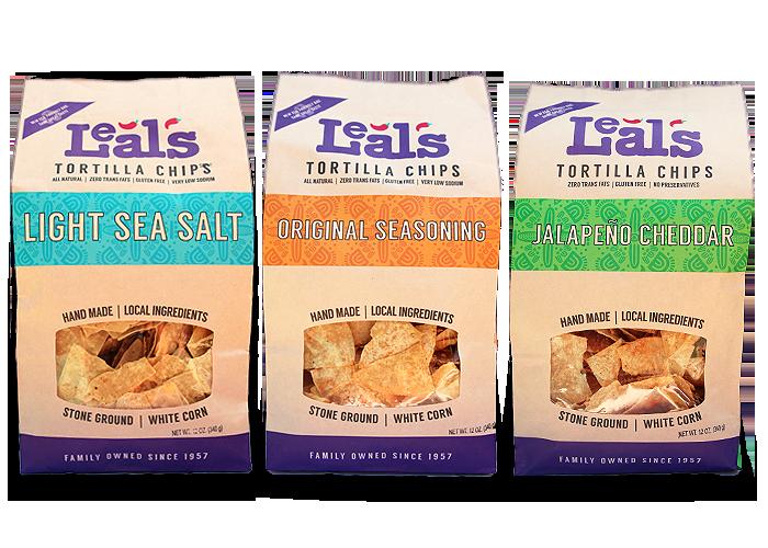 Leal's Tortilla Chip varieties image