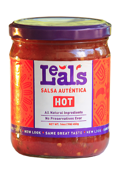 Leal's hot salsa image