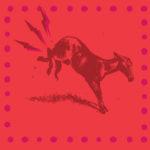 Kicking mule image